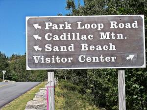 Mount Desert Island Park Loop Road
