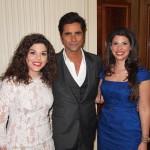 Aphrodite&Stavroula Kotrotsios with John Stamos