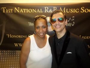 Vanessa-Jordan-w-El-Debarge-300x225 Vannessa Jordan - Passionate Executive of the National R&B Music Society