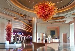 Lobby at The Borgata Hotel Casino & Spa