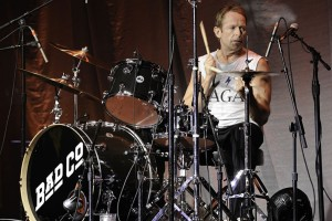 Drummer Simon Kirke of Bad Company