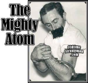the_mighty_atom_steel_bending-300x282 Sonny Barry - Strongman And Singer