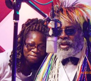 Funk master George Clinton