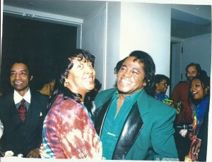 Bev-Flowers-James-brown-300x230 Beverly Flowers - Rock & Roll Hall of Fame & Museum Associate and Vocalist