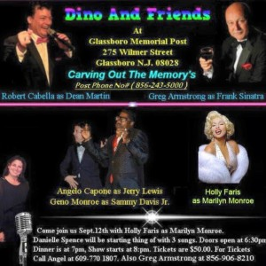 Geno-Monroe-Dino-Friends-300x300 Geno Monroe: Sammy Davis Jr. Revisited