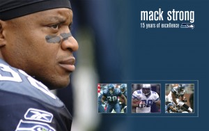 Mack Strong Career
