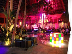 The Pool After Dark at Harrah's Atlantic City