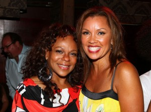 Vanessa Williams and Maria Torres