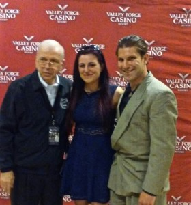 Pete and Vanessa Cannella with Frank Sinatra Impersonator