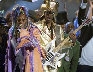 George Clinton Performing
