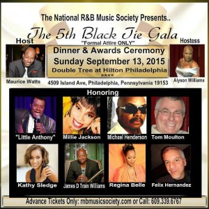National R&B Music Society 5th Black Tie Gala