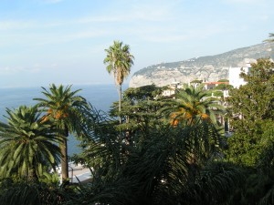 View from Sorrento's Parco dei Principi,