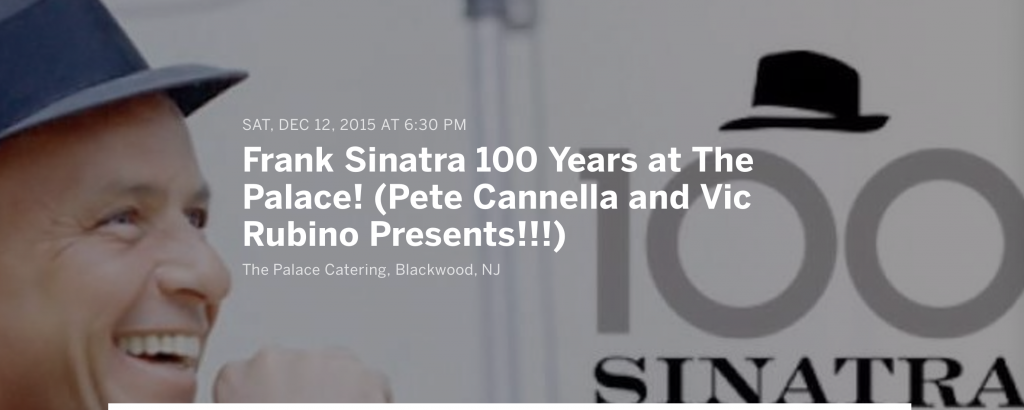 Frank Sinatra 100 Years At The Palace