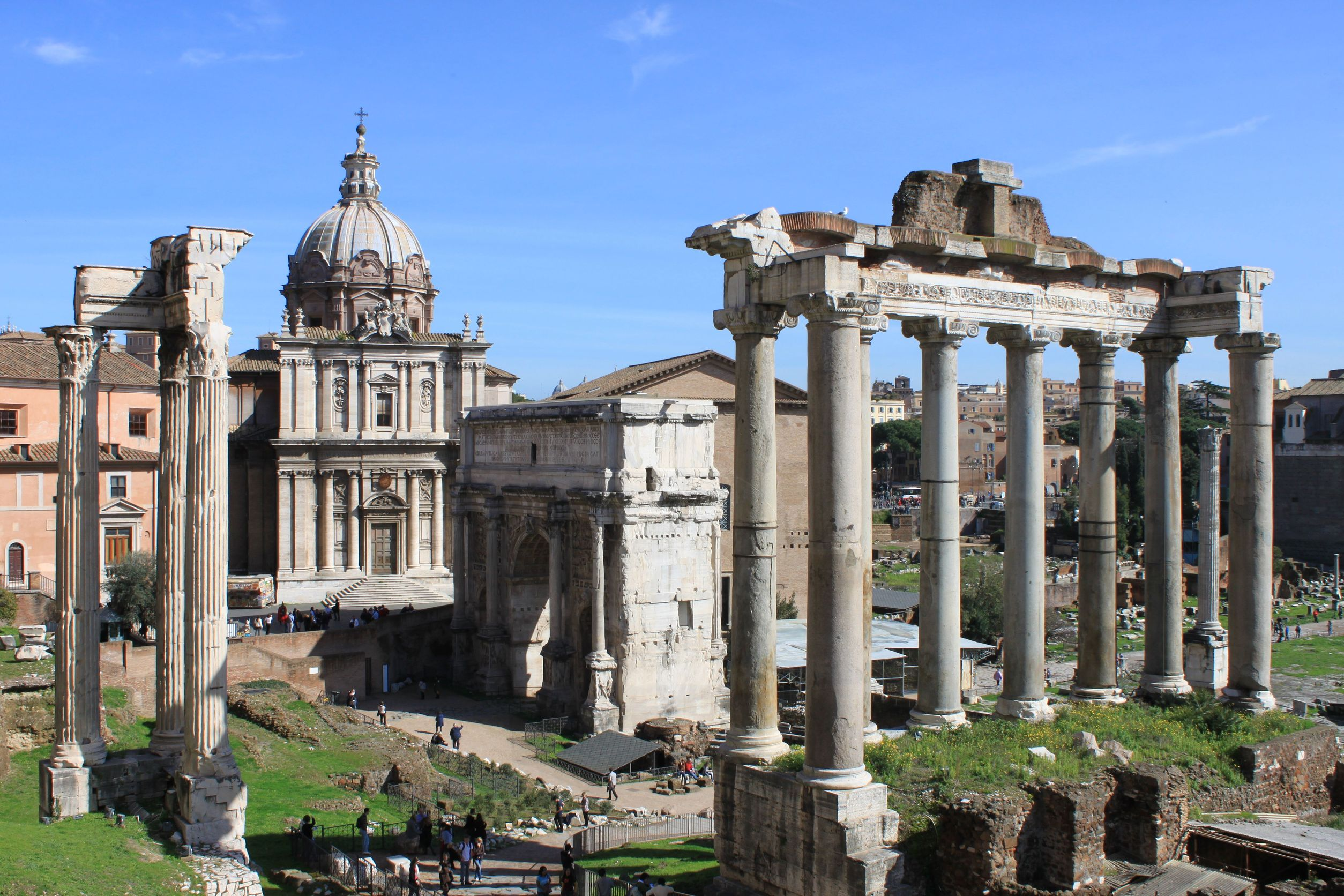 Roman holiday for Rome in rome