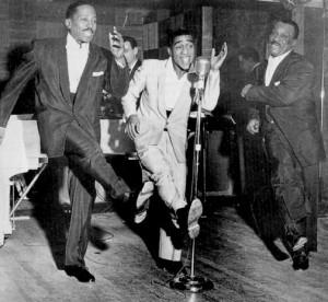 Sammy Davis Sr., Sammy Davis Jr. and Will Mastin