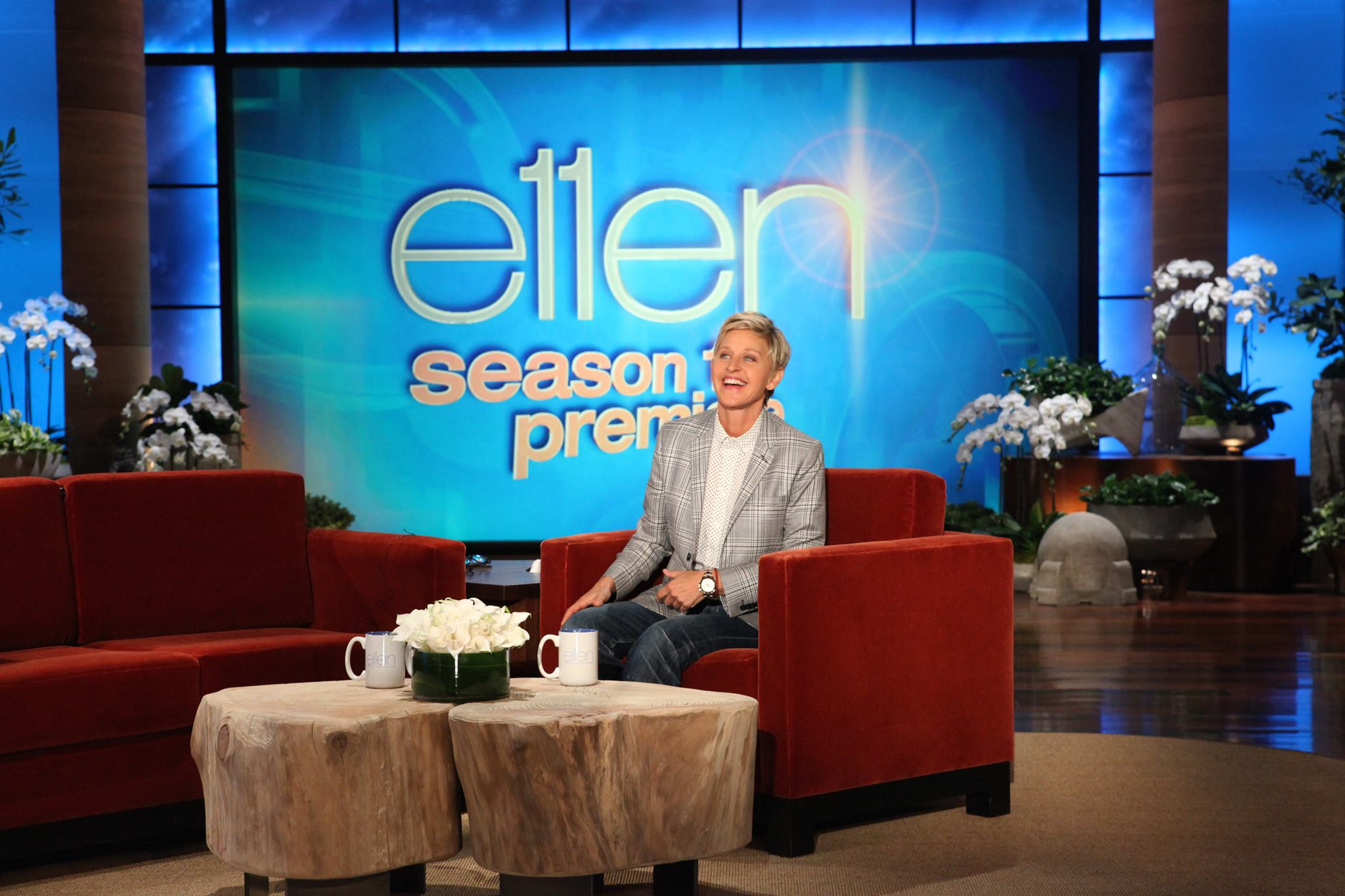 the ellen degeneres show You can contact ellen degeneres via her website, if you want ellen to know about your story, you should goto her website and fill out the necessary details and if you are lucky enough, you will receive an email or call from ellen's staff.