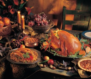 Holiday meals pack on pounds
