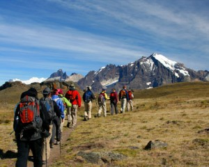Chilean hikers