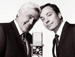 Jimmy Fallon and Jay Leno