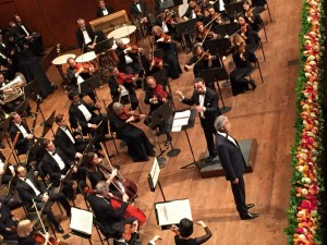 Andrea Bocelli at New York's Lincoln Center
