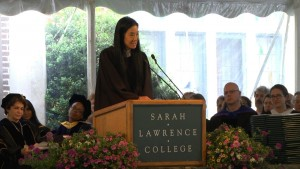 Vera Wang Sarah Lawrence College