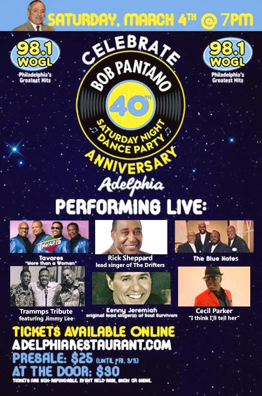 Bob Pantano's 40th Saturday night anniversary