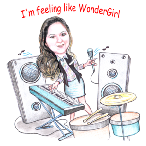 "DonnahLisaCartoon-300x300 Donnah Lisa Campbell releases Album, ""Wonder Girl"""
