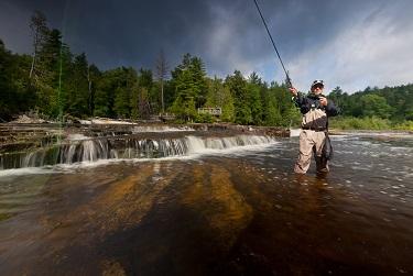 Tahquamenon Falls State Park - Fishing