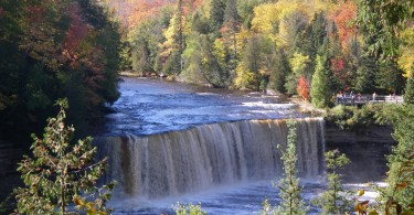 The Upper Tahquamenon Falls