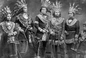 Tahquamenon Falls State Park - Ojibwe Indians