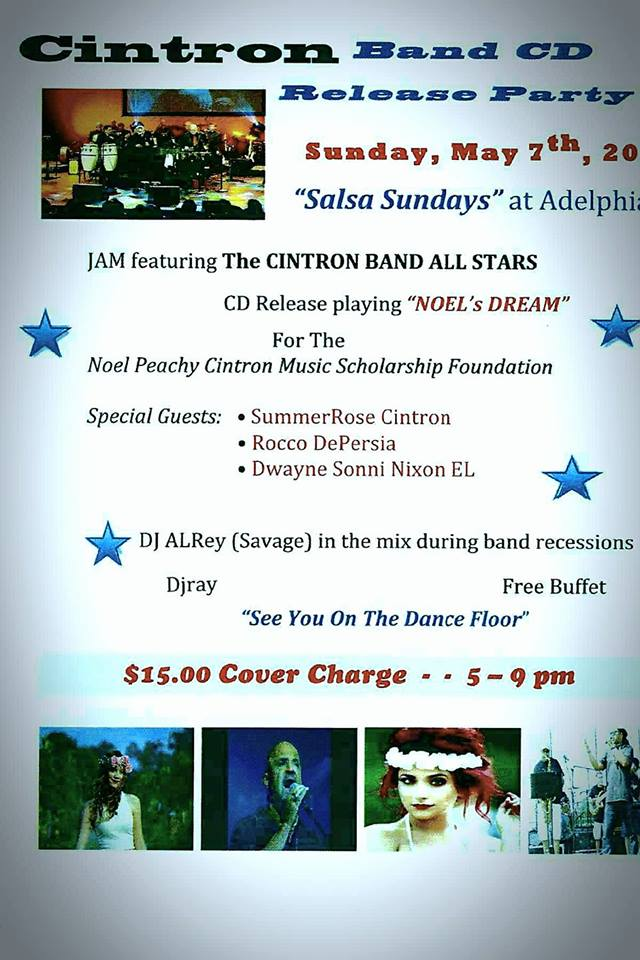 50717-fundraiser Rocco DePersia & Latin Jazz's Cintron All Stars
