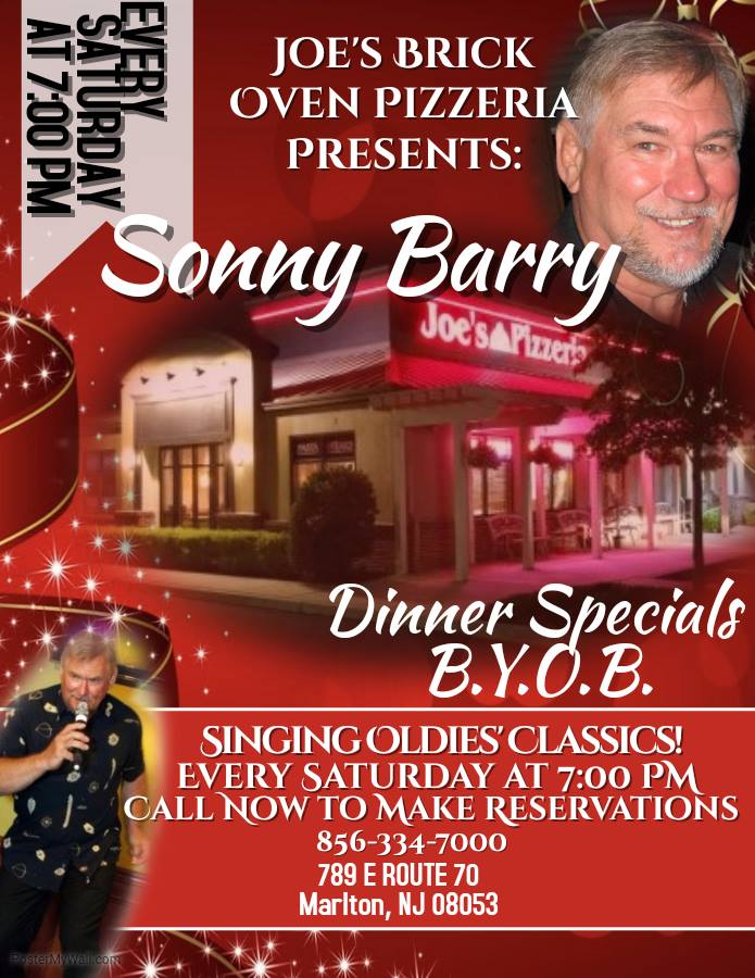 Sonny-Barry-at-Joes-pizzeria Sonny Barry - Strongman And Singer