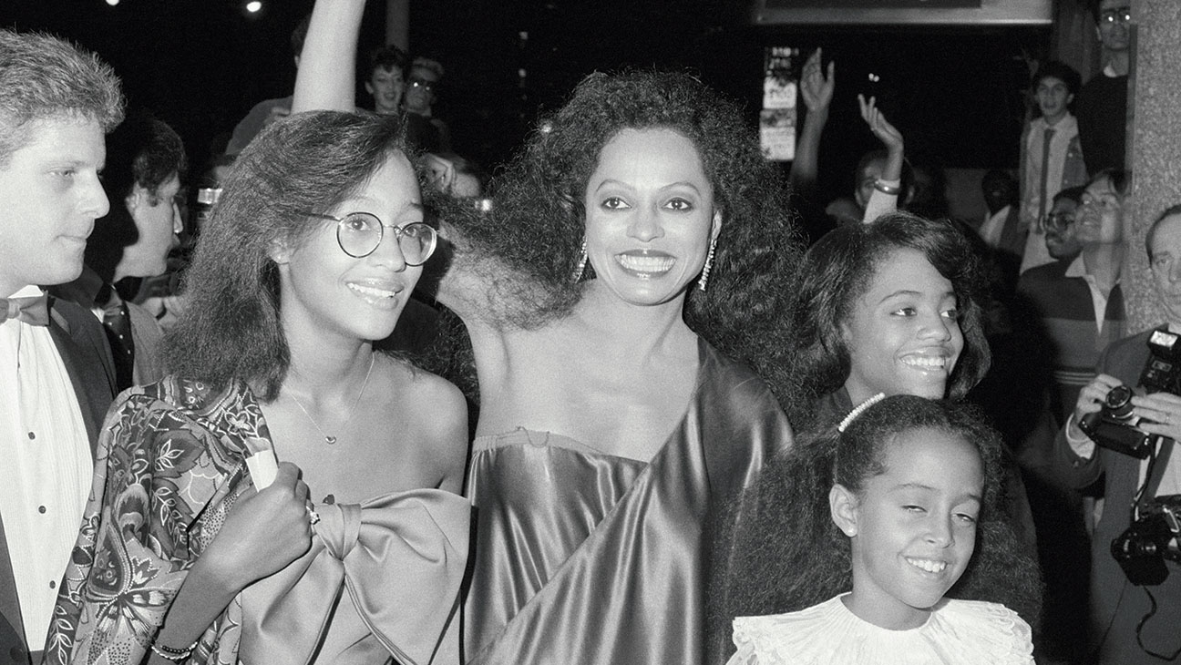 preteen_tracee_ellis_ross_tagged_along_with_diana_glitzy_events She's still the Boss: Miss Diana Ross - A Living Legend