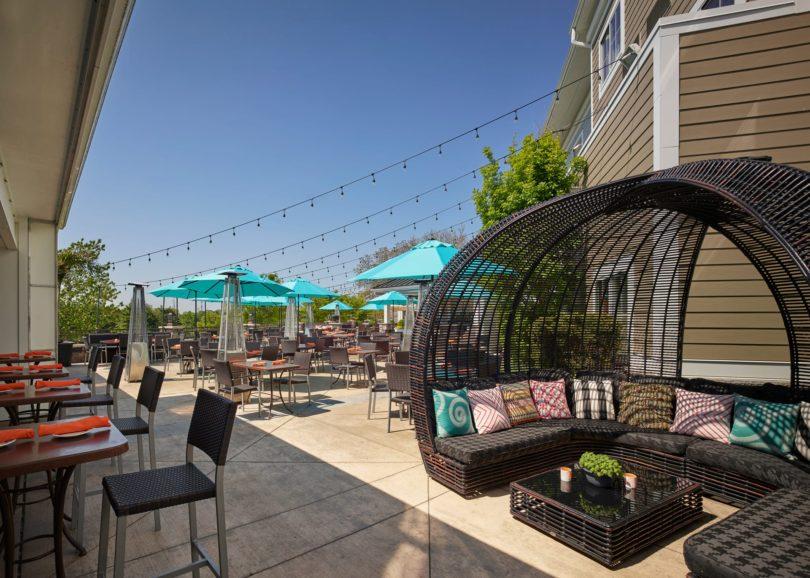 Tavola Restaurant Outdoor Dining Area