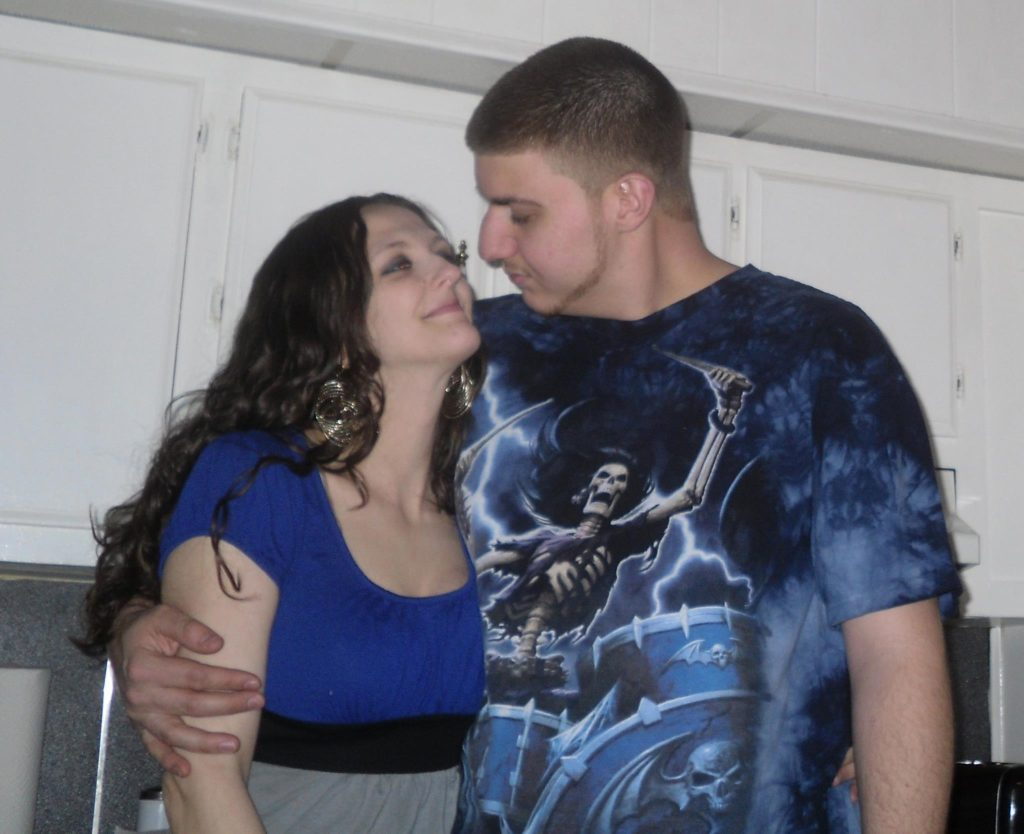David Virgilio and his wife, Ashley Ann Barrett