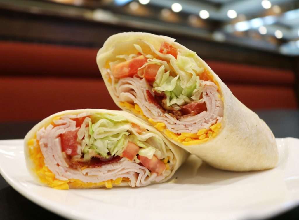 The Laughing Fox Tavern: Turkey wrap