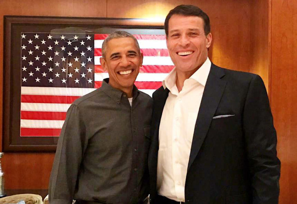 tony-robbins_with_former_US_president_barack-obama-1024x704 Tony Robbins - The Nation's Number One Life Coach & Business Strategist